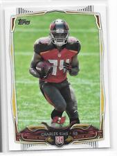 2014 Topps # 412 Charles Sims Tampa Bay Buccaneers RC 3 card lot