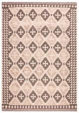 Handgewebte Wohnraum-Teppiche mit geometrischem Muster aus 100% Wolle