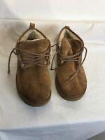 Ugg Neumel S/n3236 Mens Chestnut Lace Up Leather Boots Uk 9 Ref Ap01