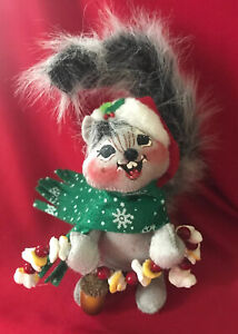 """Annalee Christmas Squirrel / 2007 / """"Nuts About Christmas"""" //EUC//"""