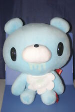 "Chax-GP Chack Baby Gloomy Bear Blue Bib Plush Doll JAPAN ONLY TAITO 12"" CGP064"
