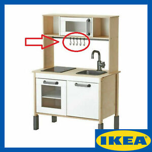 118678 - IKEA DUKTIG HOOK REPLACEMENT FOR CHILDS PLAY KITCHEN (5 Hooks)