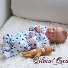 "Realborn® Logan Sleeping (19.5"" Reborn Doll Parts Kit) DIY"