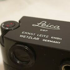 Leica Black Re-Paints for M3/M2/M1/M4/MD/MDa Black Paint Finish.