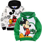 New 3-8Y Girls Kid Boys Mickey Mouse Top Cartoon Coat Hoodies Sweatshirts Jumper