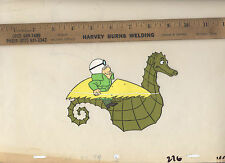 Inch High Private Eye Original Production Animation Cel Hanna Barbera RARE 1973