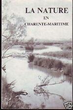 LA NATURE EN CHARENTE MARITIME  DUGUY  1980