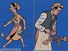 """# ROMA: HOSTERIA """"ADA E SERGIO""""- CART. ANNI '50 ARTIGIANALI"""