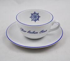 """""""Der lieben Oma"""" Wunsiedel Porzellan Tasse / Kaffeetasse  / Omi / Steuerrad"""