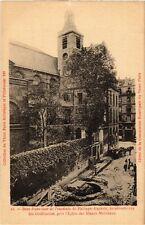 CPA Vieux PARIS 4e pres Eglise des Blancs-Manteaux. enceinte Ph-Auguste (463999)