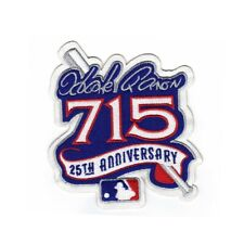 1999 Atlanta Braves Hank Aaron 715 Home Runs 25th Anniversary Sleeve Patch