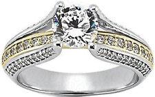 1.48 carat Round Diamond Engagement Wedding 14k White Gold Ring SI1 clarity