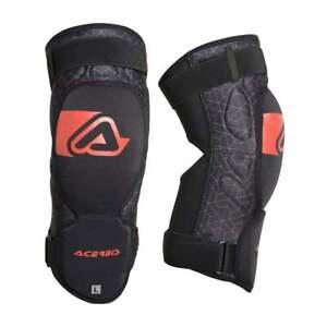 Acerbis Adults Soft 3.0 Motocross MX Enduro Motor Bike Knee Pads Guards