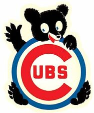 CHICAGO CUBS  Baseball    Vintage Style 1950's  Travel Decal Sticker