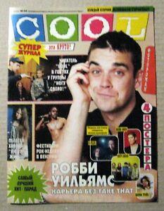 Magazine 1998 Russia Robbie Williams Take That very rare