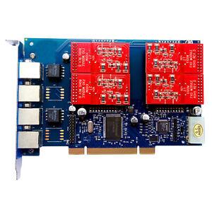 Asterisk Card TDM410P 4 Port FXS FXO Card tdm400p FreePBX Issabel AsteriskNow