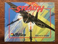 Stealth ATF NES Nintendo Instruction Manual Only