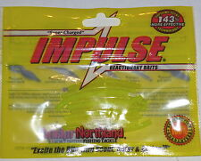 "Northland Tackle Impulse 2"" Sumo Worm Jig Trailers (Hot Chartreuse-10/Bag)"