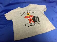 Indianapolis Indy 500 Firestone Firehawk Never Tired 4T Toddler T-Shirt New