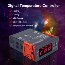 220V 10A Régulateur Numérique LCD Thermostat Sonde de Contrôleur Température