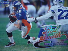 NFL 47 Rod Smith Denver Broncos Fleer Ultra 1999