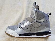 Nike Air Jordan Flight High-Top Leather trainers Grey/Silver/White UK 6 EU 39