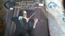 "Gidon Kremer,""Beethoven: Violin Concerto"" Rare vinyl LP-6514 075"