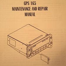 Garmin GPS 165 Maintenance & Repair Manual