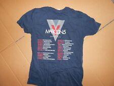 Maroon 5 Tour 2015 Concert Tour Schedule Blue Concert Med Tee-Lot of *3* -Nwot