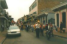 Vintage Photograph Dog Parade Mardi Gras Louisiana LA Marching Band