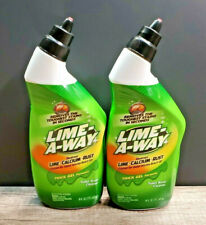 Lime-A-Way Lime Away Thick Gel Formula Toilet Bowl Cleaner Each 16 Oz. - 2 Pack