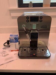 Gaggia Brera Espresso Machine - Black/Silver