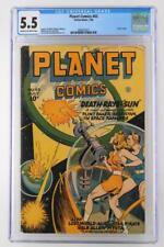 Planet Comics #43 - CGC 5.5 FN- Fiction House 1946 - Futura Begins!