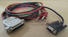 "LT (In buonissima condizione-300) 25-Pin DCE ~ 9-Pin RS232, PB-710D Rosso Dual BANANA PLUG CAVO 4ft-11"""