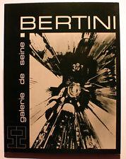 BERTINI/LA MECQUE DU MEC/CATALOGUE/GALERIE DE SEINE/1972