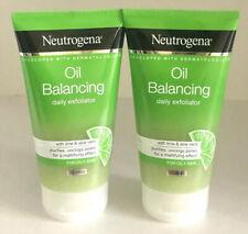 2XNeutrogena Oil Balancing Daily Exfoliator With Lime Aloe Vera 2X200ml