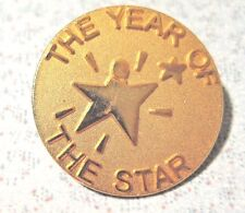 MARY KAY Consultant Vintage The Year of The Star Gold Pin Brooch Sales Award