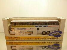 HONGWELL NEOPLAN DOUBLE DECKER MEGASHUTTLE - L23.0cm - EXCELLENT IN BOX