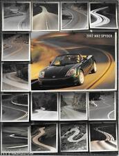 2002 02 Toyota  MR2 Spyder  oiginal sales brochure