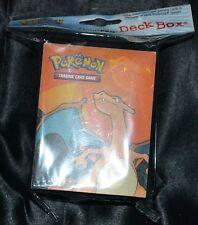 Caja estuche mazo cartas Magic Pokemon Ultra Pro Charizard
