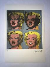Andy Warhol Litografia 57 x 38 Arches France Timbro Secco Galleria Arte A055