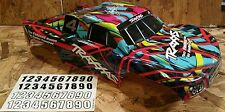 NEW TRAXXAS SLASH COURTNEY FORCE EDITION Body 4x4 2wd VXL XL-5
