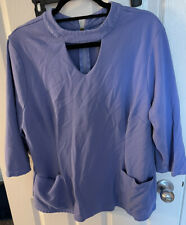 New listing womens scrub tops size 2x
