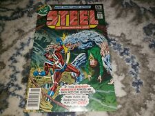 STEEL THE INDESTRUCTIBLE MAN #5 1978 VF+