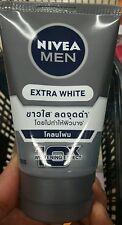 NIVEA For Men Extra Whitening Pore Minimiser Cool Mud Facial Foam 100g