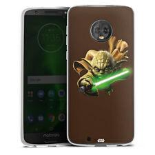 Lenovo MOTO g6 Custodia in silicone case cellulare-Yoda