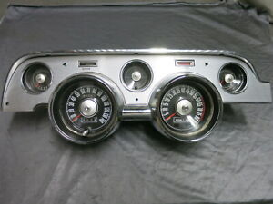 1967 Shelby GT 8000 RPM Tach Dash 140 MPH Mustang Tach Dash Rebuilt Eleanor Tach