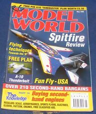 RC MODEL WORLD MAGAZINE MAY 1999 - SPITFIRE REVIEW