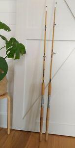 Vintage Jarvis Walker TORONTO Fishing Rods x2