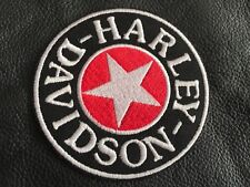 Harley Davidson Patch Aufnäher Sherman Star Kutte Rocker MC Biker Motorcycles